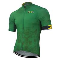 Jamaika Milli 2.020 Ekibi Yeni Yaz Bisiklet Jersey 2020 Pro Bisiklet giyim Yeşil Bisiklet Giyim Bisiklet Yolu Dağ Yarışı Tops