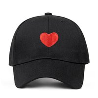 Women Baseball Cap Heart Embroidery Baseball Cap Summer Outd...