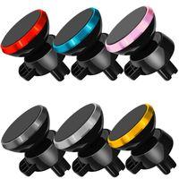 KFZ-Halterung KFZ-Halterung Mini Magnet Air Vent Halterung für Handy 360 Grad drehbaren Handy Halterung Autohalterung mit Kasten
