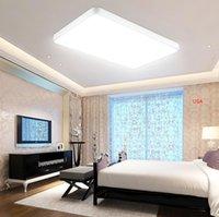 lampe de plafond ultra mince lampe LED carré salon phare plat chambre maison minimaliste lampe de plafond de bureau ultra-lumineux LED nuit l