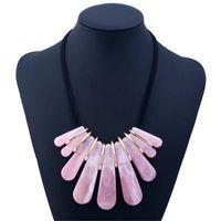2019 Новая мода напыщенные Имитация High-End длинное ожерелье Женщины Аксессуары Choker ожерелье женщина ювелирных изделий N351