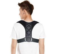 BodyWellness Posture Corrector Clavicle Spine Back Shoulder Lumbar Brace Support Belt Posture Correction Prevents Slouching