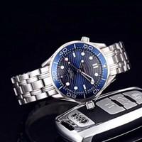 Новые 2020 часы высочайшего качества Sea 007 James Mens Часы Восемь стилей 42 мм Набор номеров 300M Часы автоматического движения мужские часы