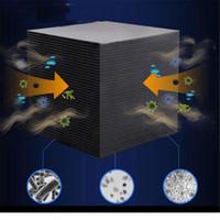 Ativado filtro de água de carbono Eco-Aquarium Purificador de Água Cube 10x10cm Honeycomb Ultra Strong filtragem Absorção Filtro Nº 913