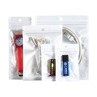8 * 14cm Zipper confezione Retail Packaging Borse autosigillante Imballaggio Bag for mobile delle cellule della cassa di batteria cavo telefonico Accessori Cuffie caricabatterie