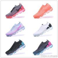2018 حذاء الجري للرجال على الطريقة الجديدة فلاي 2.0 للرجال والنساء مقاس 36-45 أسود
