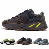 Kids Shoes Kanye West Wave Runner 700 Running Shoes Boy Girl...