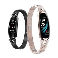 AK16 smart Band Women Fitness bracelet Heart Rate Monitor bl...