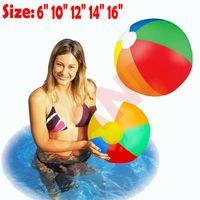Pudcoco Aufblasbare Panel-Strandball Blow Up Ferien Pool Game Party Spielzeug für Kinder Wasserballons