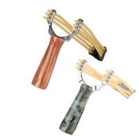 야외 강력한 새총 아이 재미있는 게임 스틸 투석기 새총 사냥 게임 슬링 샷 장난감 어린이 선물 무료 배송