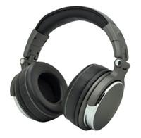 المهنية الإفراط في الأذن DJ سماعات ستوديو مراقب سماعات مع ج كل في علبة هدية التعبئة والتغليف الشحن مجانا