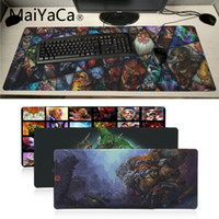 Maiyaca Beautiful Anime Dota gioco Game Mousepad Gaming Mouse Pad Gamer Tappetino per mouse Anime Tappetino per mouse Tappetino Speed ​​Version