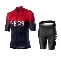 un ciclo Jersey 2020 Ineos MTB uniformes ropa de la bicicleta ropa de la bici del desgaste para hombre corto Maillot Culote verano ciclismo conjunto