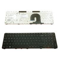 NEW UK клавиатура для HP DV7-4000 черной рамка ЧЕРНОЙ Великобритании Layout заменить клавиатуру