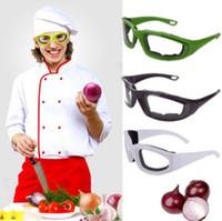 Accessori da cucina Occhiali da taglio a cipolla Barbecue Occhiali protettivi Occhi Protezione faccia schermi Utensili da cucina Utensili da cucina CCA10872 120 pezzi