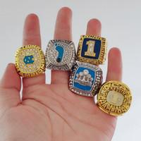 5 stücke 1993 2005 2009 2007 2017 North Carolina Tar Heels National Meisterschaft Ring Sport Souvenir Fan Promotion Geschenk Großhandel Drop Shipping US $ 4