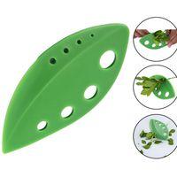 Gemüse Blatt Separator Rosemary Thymian Kohl Blatt Stripper Kunststoff Grün Kräuter Stripper Rosemary Küchenwerkzeuge kostenloser versand