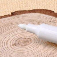 10pcs / set Kalıcı Beyaz Marker Kalemler Su geçirmez Toplu Petrol-In Sharpie Kalem Büro Okulu Boya DIY Metal CRAFTWORK (137mM) Malzemeleri