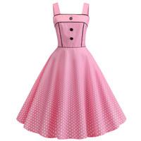Venta caliente vestido de la impresión del punto de la mujer vestidos mini vestido del estilo del verano vestido retro sin mangas de la vendimia vestidos de fiesta