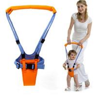 طفل رضيع تعلم المشي السلامة حزام حزام مريح تسخير وكر مساعد حارس الرضع التعلم ووكر أجنحة