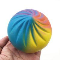 Renkli Buğulanmış Dolması Bun Squishy Dekompresyon Oyuncaklar Squishies Çocuk Oyun Evi Oyuncak Hediyeler Sıcak Satış Çocuk Oyuncakları Hediye
