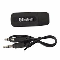 아이폰 안드로이드 폰 블루투스 보조 무선 USB 휴대용 미니 자동차 키트 블루투스 음악 오디오 수신기 어댑터 3.5mm의 스테레오 오디오