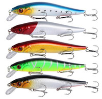 1PCS Fishing Lure Floating Hard Bait Bass Wobblers Lures Cra...