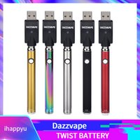 Authentic Dazzvape Bottom Twist Preheat Battery 350mAh Prehe...