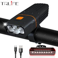 5200mAh Bicycle Light 3*T6 L2 Bike Light Built in USB Charge...