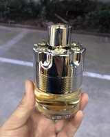 Brand Solid Fashion Bullet Men's 100ml Pine Perfume Fragrance للرجال طويل الأمد أو دو بارفان أعلى جودة CZ138
