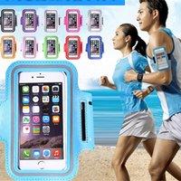 Sport Armband Support de portable extérieur Sac Courir pour Smartphone Waterproof Courir bande de bras Case