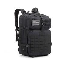 45L große Kapazitäts Famous Man Army Tactical Rucksäcke Sturm Taschen Outdoor-3P EDC Molle Pack für Trekking Camping Jagdtasche