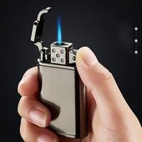 높은 품질 토치 터빈 금속 라이터 제트 부탄 화재 시가 가스 라이터 담배 라이터 부탄 방풍 라이터 도매