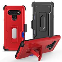 copertura del telefono fondina vendita della fabbrica calda clip della cinghia per LG stylo 6 k51 protettiva caso telefono antiurto