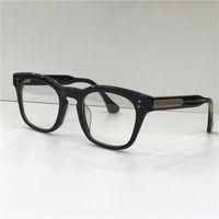 مصمم أزياء النظارات البصرية مان إطار مربع الرجعية بسيطة النمط الشعبي نظارات شفافة أعلى جودة العدسات واضحة مع حالة