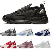 nike m2k TOP M2k Tekno Zoom 2K Mens 여성 신발 트레이너 테니스 화 패션 럭셔리 2000 세일 블랙 화이트 오렌지 디자이너 스니커즈