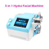 5 em 1 hidra faical água hydradermabrasion hidro descamação rejuvenescimento da pele contra o envelhecimento da pele purificador de pulverização de oxigénio metralhadora beleza