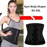 Vrouwen 9 stks Staal Boned Short Torso Sporty Gym body Shaper PostPartum Girdle Ondersteuning Recovery Belly Wrap Taille Pelvis Ademend Belt XS-XXL