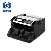 HSPOS HS-138 USD Euro Counter Counter Counter Máquina de conteo de efectivo adecuado para monedas mundiales