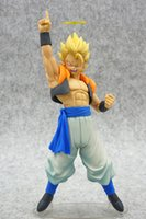 Anime Dragon Ball Z Gogeta Figura de Ação 1/8 scale pintado Estatueta Super Saiyan vegetto PVC Figura Toy