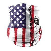 Gesichtsmaske Waschlappen 2020 Trump amerikanische Wahl Supplies Art und Weise US-Flagge Druck Staubdichtes Maske Außengeräte Radfahren Mask