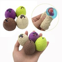 Soft Rubber Wreak Ball Colourfull Dinosaur Eggs Decompressio...