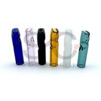 Freies DHL !! Mini-Glasfilter Rohrglasfilter Tip Halter Glas-Einweg Für RAW-Dry Kraut Rollen Papier Dickes Pyrex Raucher Tipps