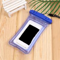Waterproof Case telefone Airbag impermeável Bolsa Celular seco saco para IPhone X / Smartphones até 6 Inch Telefone Acessórios frete grátis