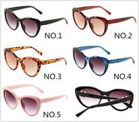 Brand Designer New Sunglasses Big Frame 1854 Luxury Eyewear Protezione UV Glasses 5 Colori con fullPackge