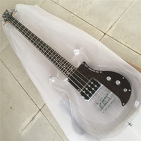 Бесплатная доставка Дан Армстронг Ampeg Electric Bass Guitar Acrylic Body Posewood Pickguard Fix Bridge Crystal Guitar Guitars Guitarra
