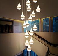 merdiven lambası villa dubleks oda kolye lamba kişilik Otel barı kahvehane Satış Departmpendant lamba MYY yaşayan yemek odası inşa