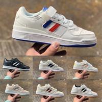 Offiziell offenbartes Forum Mid Low Blue Rosa White Sneakers Jungen Mädchen Kinder Athletische Jogging-Schuhe Athletische Jogging-Schuhe für Kinder