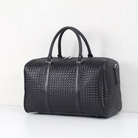 Высокое качество Мода большой емкости водонепроницаемый женщин дорожные сумки классические горячей продажи мужчины плечо вещевой мешок нести на портативные багажные сумки