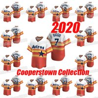 2020 1 카를로스 코레아 2 알렉스 브레 그먼 4 조지 스프링 5 제프 백웰 7 크레이그 비지오 (10) Yuli Gurriel 쿠퍼스 타운 컬렉션 홈 저지